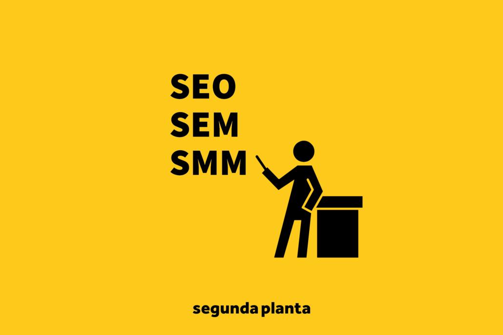 Aclarando conceptos SEO SEM y SMM 1